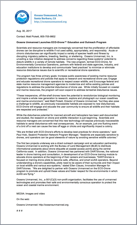 OU Press Release