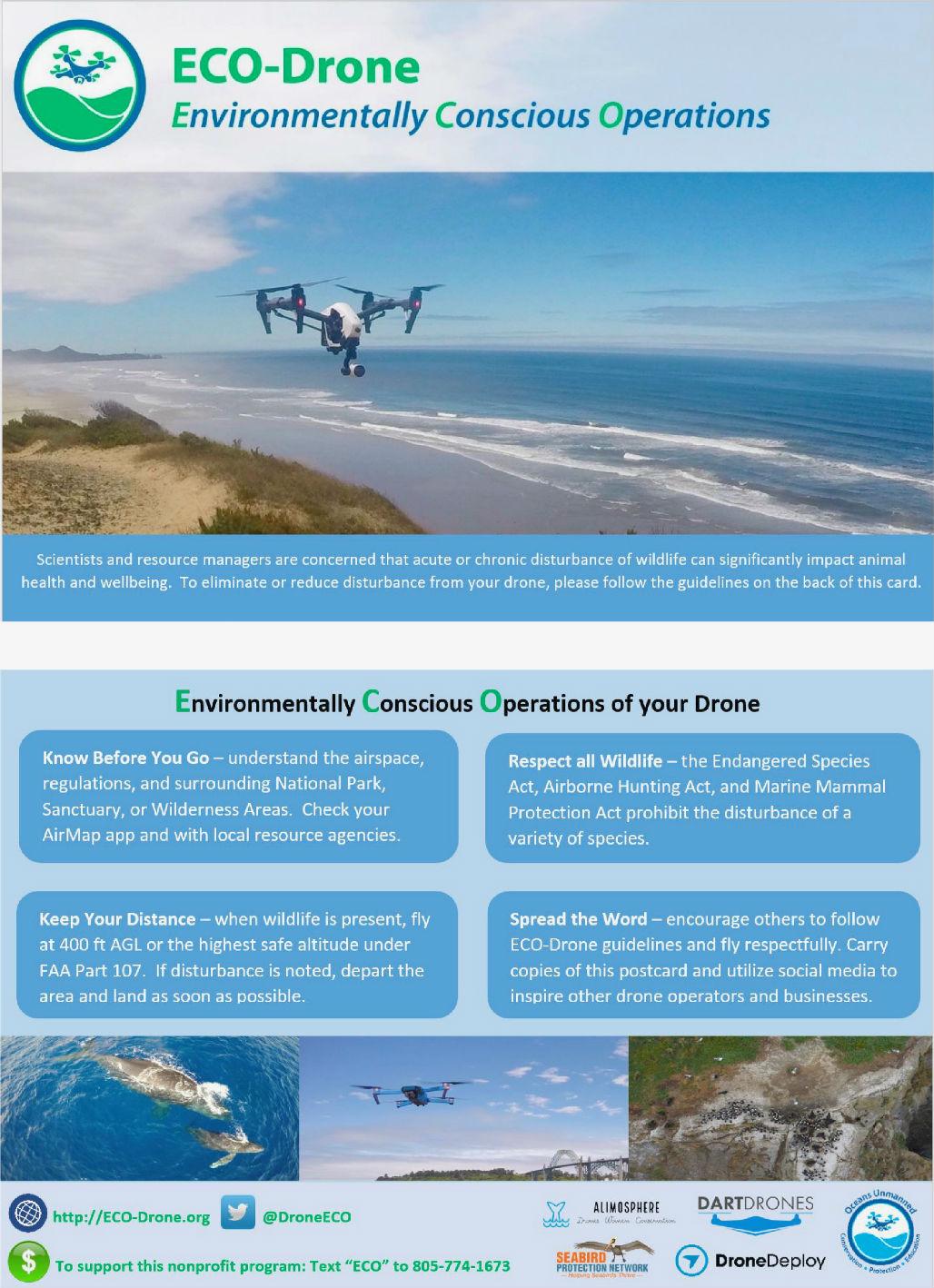 ECO-Drone Postcard