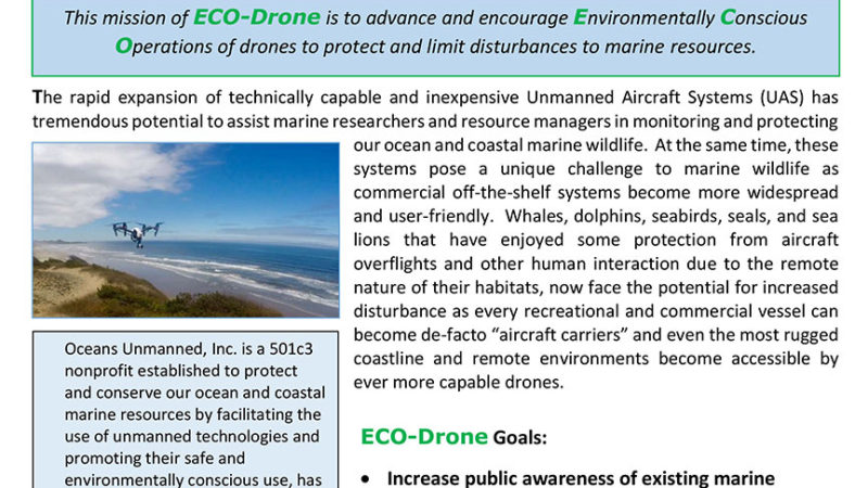 ECO-Drone Program